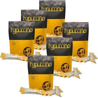 Hylife Hypuccinoกาแฟไฮปูชิโน กาแฟที่หอมนุ่มรส คาปูชิโน่ แคลอรี่ต่ำ บรรจุ10ซอง x (6แพค)