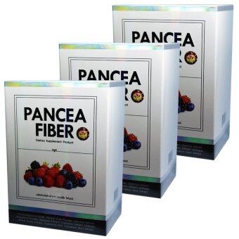 Pancea Fiber แพนเซีย ไฟเบอร์ ดีท็อกลำไส้ล้างสารพิษเพื่อให้ลำไส้เราทำงานได้ปกติ บรรจุ 7 ซอง (3 กล่อง)