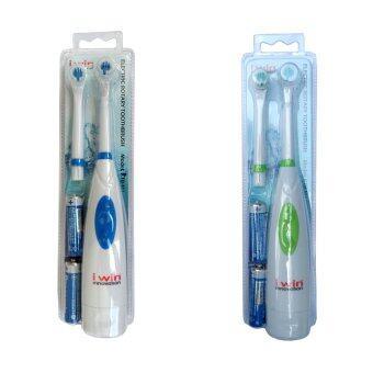 i win innovation แปรงสีฟันไฟฟ้า แบบหมุน รุ่น RTB-M1 Set 3
