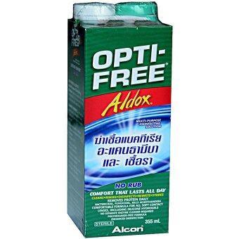 ALCONน้ำยาล้างคอนแทคเลนส์ออฟติ-ฟรี อัลดอกซ์355มล. 1ขวด