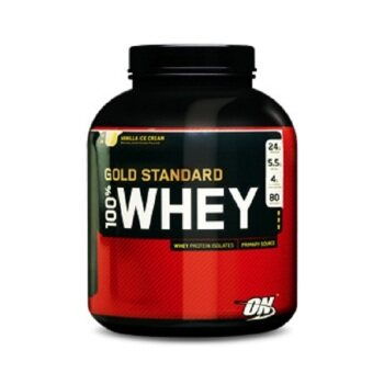 Harga OPTIMUM Whey Protein Gold 5 Lbs. - Vanilla ice cream