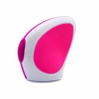 MEGA 5 in 1 Electric Skin Beauty Face Cleaner Makeup SPA Clean Brush Waterproof Nose Massager ผิวสวย หน้าสะอาด ทำความสะอาดแปรงแต่งหน้ากันน้ํา รูปร่างนวดจมูก รุ่น MG1002 (White/Pink)