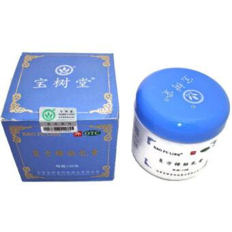 ครีมบัวหิมะ เป่าฟูหลิง Bao Fu Ling Compound Camphor Cream 100g (กล่องสีฟ้า)