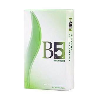 B5 slim บีไฟว์ สลิม อาหารเสริมลดน้ำหนัก กระชับสัดส่วน 30 แคปซูล 1 กล่อง
