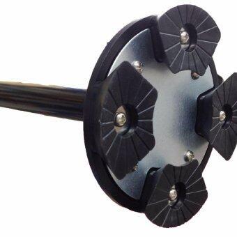 Trusty Cane ไม้เท้าช่วยพยุงสำหรับผู้สูงอายุ พับได้ ปรับสูงต่ำ ได้ - สีดำ (image 4)