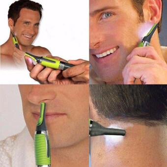 เครื่องโกนหนวดไฟฟ้ามีดโกนตัดหูชายผมข้างจมูกมีดโกนโกนผมจอน (รวมแบตเตอรี่)