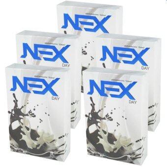 Kudson Exday NEXday เน็กซ์เดย์ ช็อคโกแลต (Ex day เอ็กซ์เดย์) ลดน้ำหนัก ช่วยให้อิ่มเร็ว เผาผลาญไว (10 ซอง) 5 กล่อง