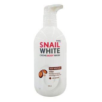 SNAIL WHITE สเนล ไวท์ ครีมบอดี้วอช ดีพ มอยส์เจอร์ 500 มล.