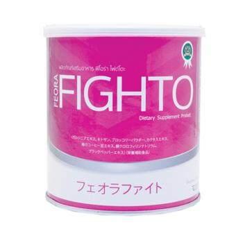 FEORA FIGHTO 2 กระปุก