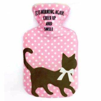 กระเป๋าน้ำร้อน ลายแมว