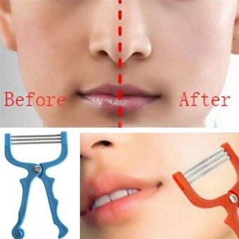 Harga Handheld Facial Hair Removal Threading Beauty Epilator Tool - intl
