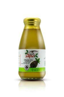Meekun น้ำสับปะรดผสมน้ำใบโหระพา (250 ml. x 6 ขวด)