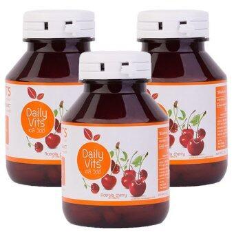 Daily Vits Vitamin C 3 กระปุก