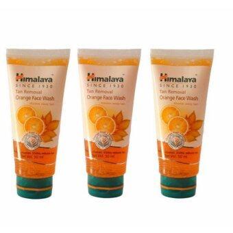 Himalaya Tan removal face wash 100 ml. เจลล้างหน้า ลดสิว หน้าใส ( 3 หลอด )