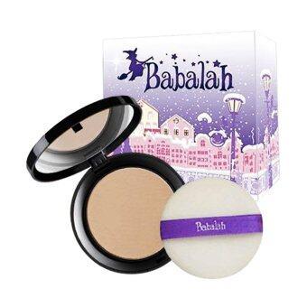 Babalah Cake 2 Way บาบาลา แป้งเค้ก แป้งพัฟทูเวย์ #เบอร์ 01 ผิวขาว