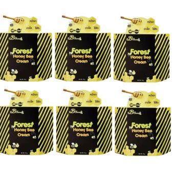 B'Secret Forest Honey Bee cream ครีมน้ำผึ้งป่า บีซีเคร็ท (6 กล่อง)