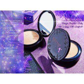 Babalah แป้งบาบาร่า Oil Control UV Magic 2 Way Cake Magic Powder SPF20 เบอร์1 - สำหรับผิวขาวเหลือง