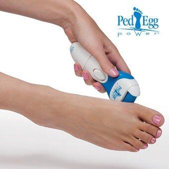 lisa เครื่องขัดส้นเท้าไฟฟ้า ส้นเท้าแตก วิธีรักษาส้นเท้าแตก ที่ขัดส้นเท้าแทนการเข้าร้านสปาเท้าlisa 0022ขาว