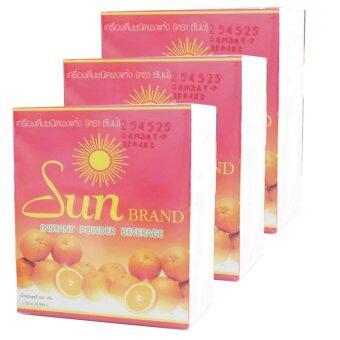 Sun brand ดีท็อกล้างพิษ ( จำนวน 3 กล่อง )