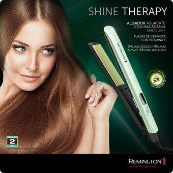 Harga 2017 Hot Remington LCD Fast Hair Straightener Simply Straighting Iron Shine Therapy Ceramic Hair Flat Iron Wholesale Price S9960 - Intl