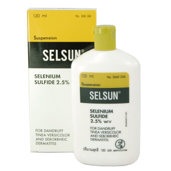 Selsun เซลซั่น แชมพูขจัดรังแค 120 ml.