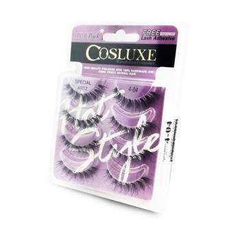 แพค 4 คู่ Cosluxe Valuepack Eyelashes ขนตาปลอม เบอร์ 404