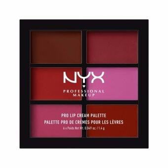 นิกซ์ โปรเฟสชั่นแนล เมคอัพ โปร ลิป ครีม พาเลทท์ท์ - PLCP04 เดอะ พลัมส์ NYX Professional Makeup Pro Lip Cream Palette - PLCP04 The Plums