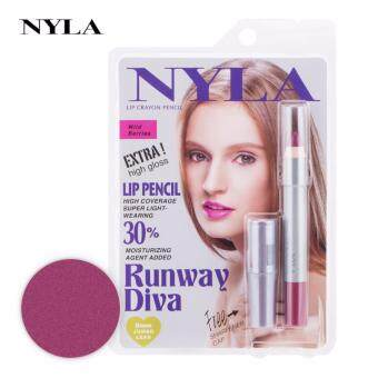 ลิปสติก NYLA Lip Crayon Pencil สี Wild Berries