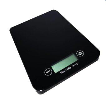 iremax เครื่องชั่งน้ำหนัก Mirror Black Kitchen Scale - สีดำ