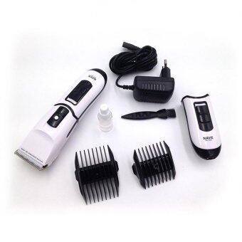 แบตตาเลี่ยน ปัตตาเลี่ยนไร้สายสีขาว แบตตาเลี่ยนตัดผมเด็ก แบตเตอร์เลี่ยนไฟฟ้า แบตเตอเลี่ยนตัดผมชาย White Ceramic Blades Rechargeable Professional Electric Hair For Men & Women