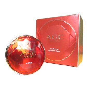 AGC ซีซีครีม แป้งคุชชั่น แป้งพัฟ Cushion CC Cream Puff สวยใส เนียนฉ่ำ แบบสาวเกาหลี พร้อมรีฟิว (1กล่อง)