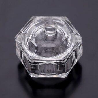แก้วคริสตัลสำหรับเล็บอะคริลิค Dappen จาน ชาม ถ้ว ยลิขิค ผง