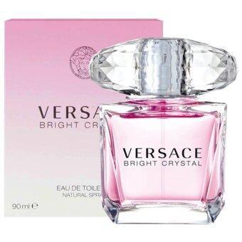 Versace Bright Crystal EDT 90 ml พร้อมกล่อง