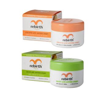 Rebirth ครีมรกแกะ (Original)สำหรับผิวแห้ง 100 ml.คู่กับ Rebirth Lanolin Anti-Wrinkle Cream 100 ml.