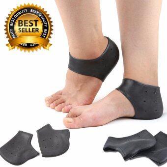 ซิลิโคนถนอมส้นเท้า ซิลิโคนป้องกันส้นเท้าแตก ซิลิโคนถนอมเท้า (x3 คู่)