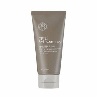 Harga THEFACESHOP JEJU VOLCANIC LAVA PEEL-OFF CLAY NOSE MASK
