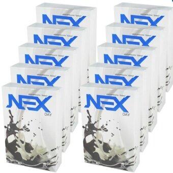 Kudson Exday NEXday เน็กซ์เดย์ Nex day ช็อคโกแลต (Ex day เอ็กซ์เดย์) ลดน้ำหนัก ช่วยให้อิ่มเร็ว เผาผลาญไว (10 ซอง) 10 กล่อง