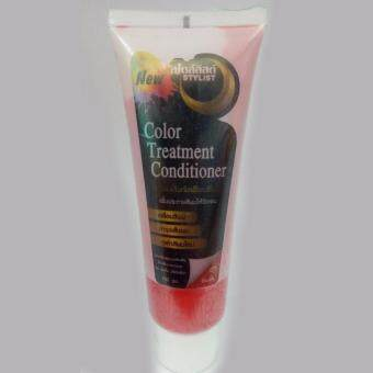 Styliss treatment เคลือบสีผม เพิ่มประกายสีผมให้ชัดเจน (สีแดง)