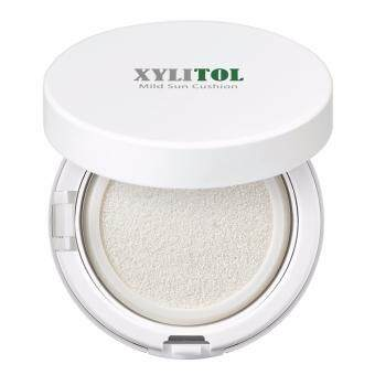 AndLab Xylitol Mild Sun Cushion กันแดดเนื้อคุชชั่นจากสารสกัดไซลิทอลสำหรับผิวแพ้ง่าย ใช้ได้ในเด็กเล็ก
