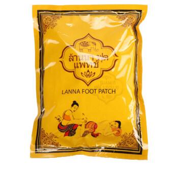 meihua shop Lanna Foot Patch ล้านนา ฟุต แพทช์ แผ่นปะเท้า 1 ซอง บรรจุ 10 แผ่น (5คู่)