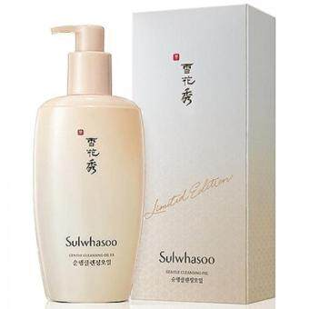 Sulwhasoo (Limited Edition) Gentle Cleansing Oil EX 400ml ออยล์ทำความสะอาดเครื่องสำอางก์ ผสมสมุนไพรตามแบบฉบับเกาหลี ให้ผิวสวยใสไร้เมคอัพ