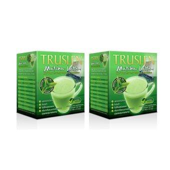 Truslen Matcha Latte ชาเขียวมัทฉะ 10 ซอง 2 กล่อง