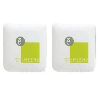 SHEENE OIL FREE CAKE SPF 25 PA++ No.C2 แป้งตลับเล็ก 3.5 g. ( 2 ตลับ)