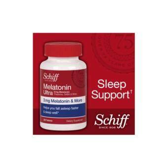 Schiff Melatonin 3 mg เมลาโทนิน ช่วยหลับ นอนง่ายขึ้น 365 tablets