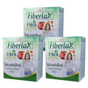 Verena Fiberlax เวอร์รีน่า ไฟเบอร์แล็กซ์ ดีท๊อกซ์ (10ซอง) 3 กล่อง