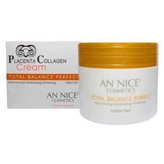 AN NICE' Placenta Collagen Cream ครีมรกแกะ 100ml.