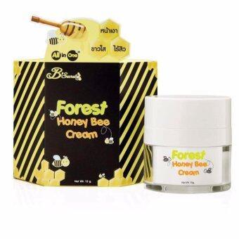 ครีมน้ำผึ้งป่า ลดสิว ผิวใส ครีมบำรุงผิวหน้าเนียนเด้ง ขนาด 15 กรัม (1 กระปุก)