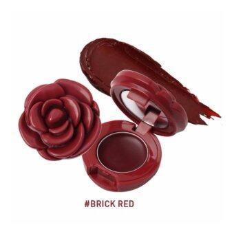 ลิปบาล์มดอกกุหลาบ 3CE ROSE POT LIP (#Brick Red)