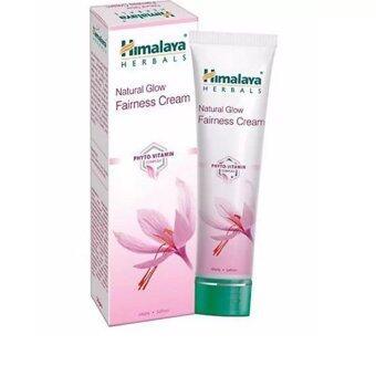 Himalaya Natural Glow Fairness cream 50กรัม(ครีมปรับผิวขาวใส)