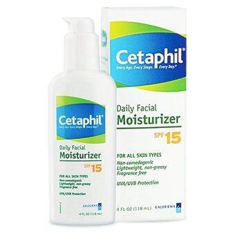 Cetaphil Daily Facial Moisturizer SPF15 PA+++ 118 ml x 1 ขวด